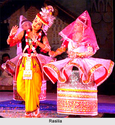 Raslila, Indian Folk Dance
