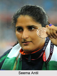 Seema Antil, Indian Discus Thrower