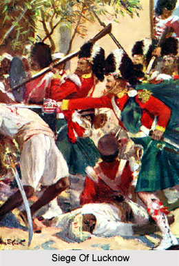 Siege Of Lucknow, Indian Sepoy Mutiny