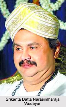 Srikanta Datta Narasimharaja Wodeyar, Maharaja of Mysore