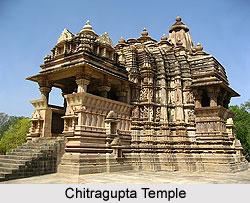 Chitragupta Temple, Khajuraho, Madhya Pradesh