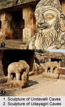 Indian Cave Temple Sculpture, Indian Sculpture