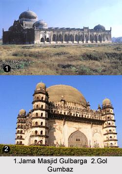Jama Masjid Gulbarga and Gol Gumbaz - Bahmani Architecture