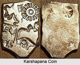 Karshapanas ,Earliest Currency of South India