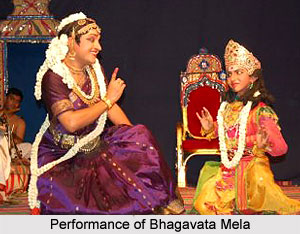 Performance of Bhagavata Mela