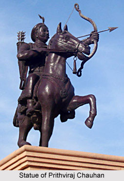 Statue of Prithviraj Chauhan