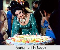 Aruna Irani in Bobby