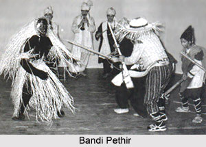 Bandi Pethir, Indian art form