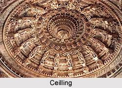 Ceiling of Dilwara Temples, Mount Abu, Rajasthan