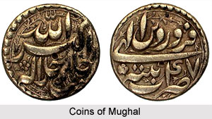 Coins of Mughal