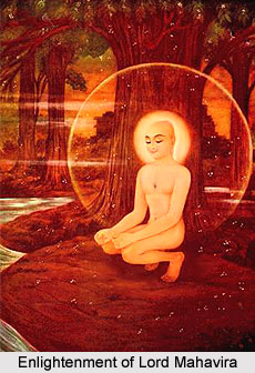 Enlightenment of Lord Mahavira