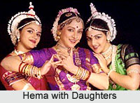 Hema Malini with Daughters
