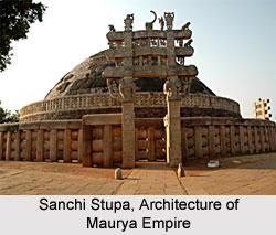 Sanchi Stupa Architecture of Maurya Empire