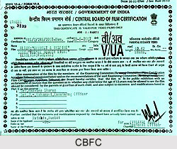 Central Board of Film Certification (CBFC)