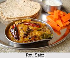 Indian Food - Roti Sabzi