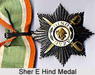Sher E Hind Medal