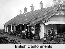 British Cantonments in India