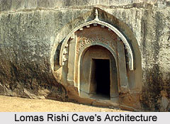 Lomas Rishi Caves Architecture