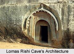 Lomas Rishi Caves Architecture
