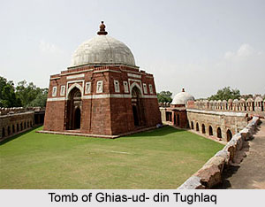 Tomb of Ghias-ud- din Tughlaq, Monument of Delhi