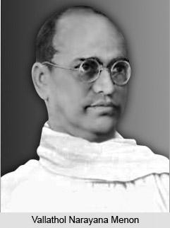 Vallathol Narayana Menon, Modern Malayali Poet