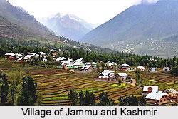 Villages of Jammu and Kashmir, Villages of India