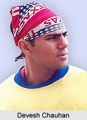 Devesh Chauhan, Indian Hockey Player