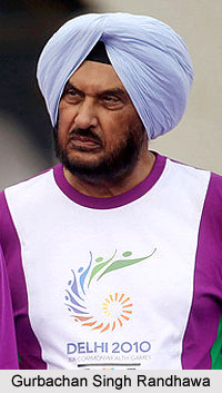 Gurbachan Singh Randhawa, Indian Athlete