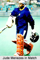 Jude Menezes, Indian Hockey Player