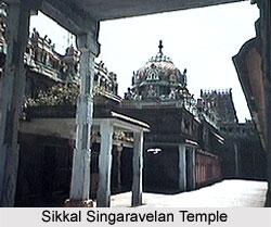 Sikkal Singaravelan Temple, Tamil Nadu