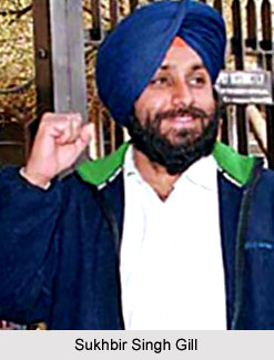 Sukhbir Singh Gill, Indian Hockey Player