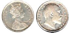 British Raj coins
