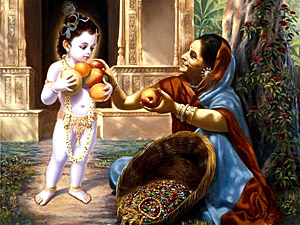 Childhood of Lord Krishna, Indian Classical Tale, Mahabharata