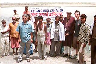 Clean Ganga Campaign 2004
