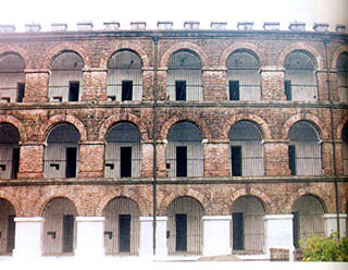 Cells of Cellular Jail, Andaman and Nicobar Islands