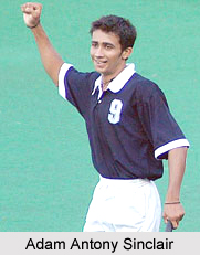 Adam Sinclair, Indian Hockey Player