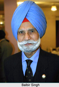 Balbir Singh Sr., Indian Hockey Player