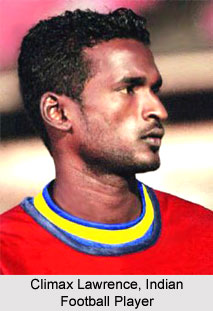 Climax Lawrence, Indian Football Player