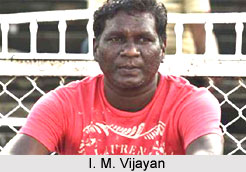 I M Vijayan, Indian Football Player