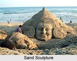 Indian Sand Sculptures
