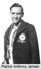 Patrick Anthony Jansen, Indian Hockey Player