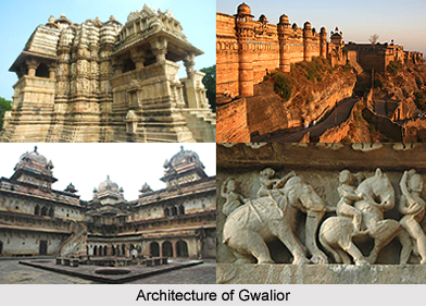 Architecture Of Gwalior, Madhya Pradesh