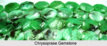 Chrysoprase, Gemstone