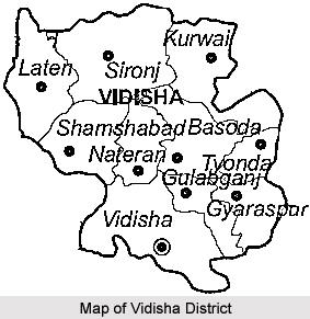 Geography of Vidisha District, Madhya Pradesh