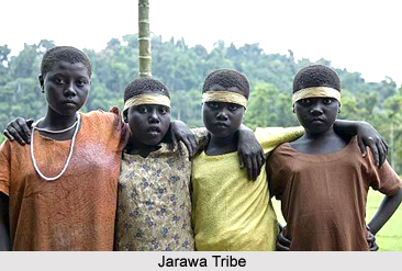Nicobar Island Tribes Map