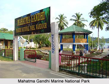 Mahatma Gandhi Marine National Park, Andaman and Nicobar Island