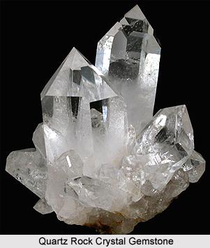 Quartz  Rock Crystal  , Gemstones