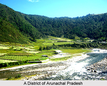 Districts of Arunachal Pradesh