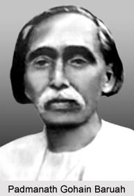 Padmanath Gohain Baruah, Assamese Literature