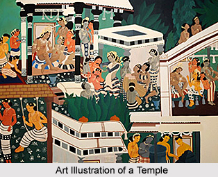 Arts and Crafts of Hindu Temples, India